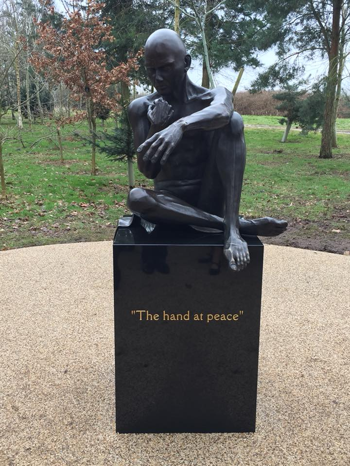 Sapper Support Statue