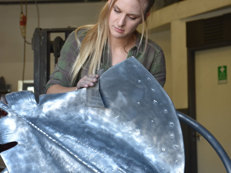 Kate Ventress blacksmith