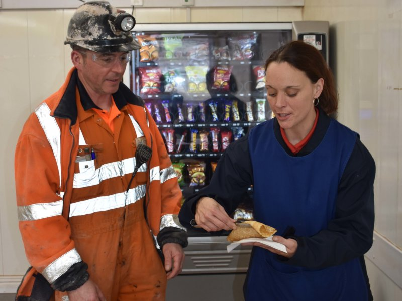 Pancake Day at Boulby Mine