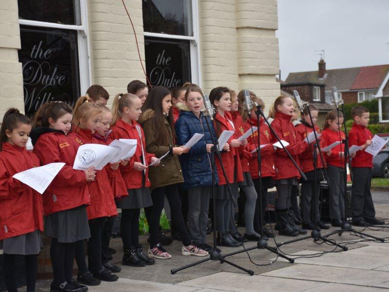 Skelton Primary School choir
